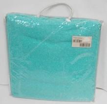Manual AICWBL Indoor Outdoor Acrylic Throw Blanket Color Aqua Green image 1