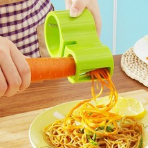Spiral Vegetable Slicer Spaghetti Peeler Cutter Kitchen Gadget Spiralize... - $6.64