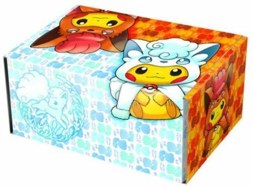 Pokemon Japanese Alolan Ninetales Vulpix Pikachu Cosplay Collection Box Sealed