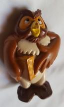 Disney Winnie The Pool Owl PVC Figure Toy Cake Topper Collectible Rare 3... - $10.36
