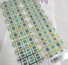 Jamberry Check Me Out 0916 69A5 Nail Wrap Full Sheet - $15.14