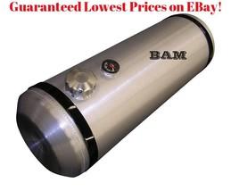 3//8 NPT Chromed Brass Mini Ball Valve Male to Female Spun Aluminum Gas Tank