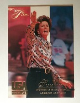 PAT SUMMITT 1994 Fleer Flair Team USA Basketball Card #117 - $14.85