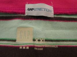Women's multi-color striped shirt Size XXL by Gap  MMARS350 - $10.65