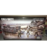Mega Bloks 06829 Call of Duty Landing Craft Invasion D-Day NORMANDY NEW ... - $322.58