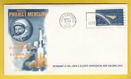 ASTRONAUT JOHN GLENN HOMECOMING NEW CONCORD, OHIO MARCH 3 1962 - $2.68