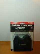 2 pack New Genuine Smith Corona H Series 21000 Correctable Typewriter Ribbons - $13.02