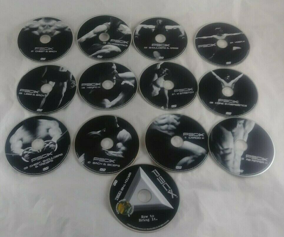 P90X Replacement DVD Disc Sold Individually and 50 similar items