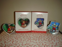 Hallmark 2013 & 2016 Cookie Cutter Christmas Series 2 & 5 Ornaments - $23.99