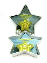 Vintage Pair of Wilton Star Cake Party Pans - $24.70