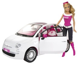 Fiat 500 (Ciquecento) Edition with Barbie Doll  - $132.85
