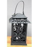 Cast Iron Square Lantern - $48.26