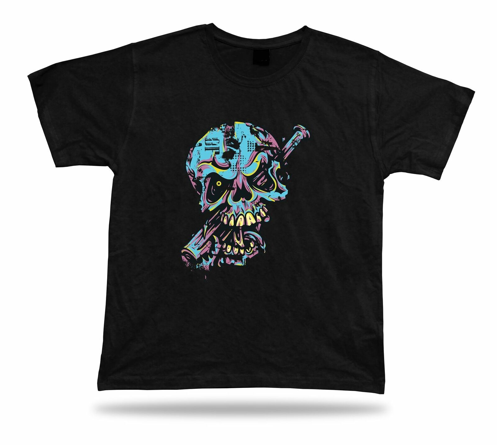 Primary image for Baseball Skull Monster Scary Bat tee tshirt stylish design special birthday gift