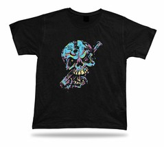 Baseball Skull Monster Scary Bat tee tshirt stylish design special birth... - $7.57