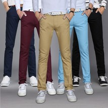 Men Straight Pants Tide Men's Casual Long Pants - $34.68