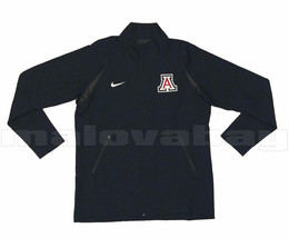 Nike Arizona Wildcats Basketball Jacket Mens Lg Full Zip Navy Blue Athra... - $31.49
