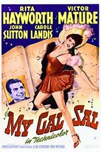 Rita Hayworth and Victor Mature in My Gal Sal 16x20 Canvas Giclee - $69.99
