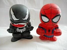 "Marvel Spider-Man and Venom Slurper Toy Figurines Walgreens 3.5"" Tall Set of 2 - $8.90"