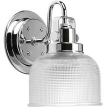 Progress Lighting Archie Collection 1-Light Chrome Bath Light, P2989-15 - $44.99