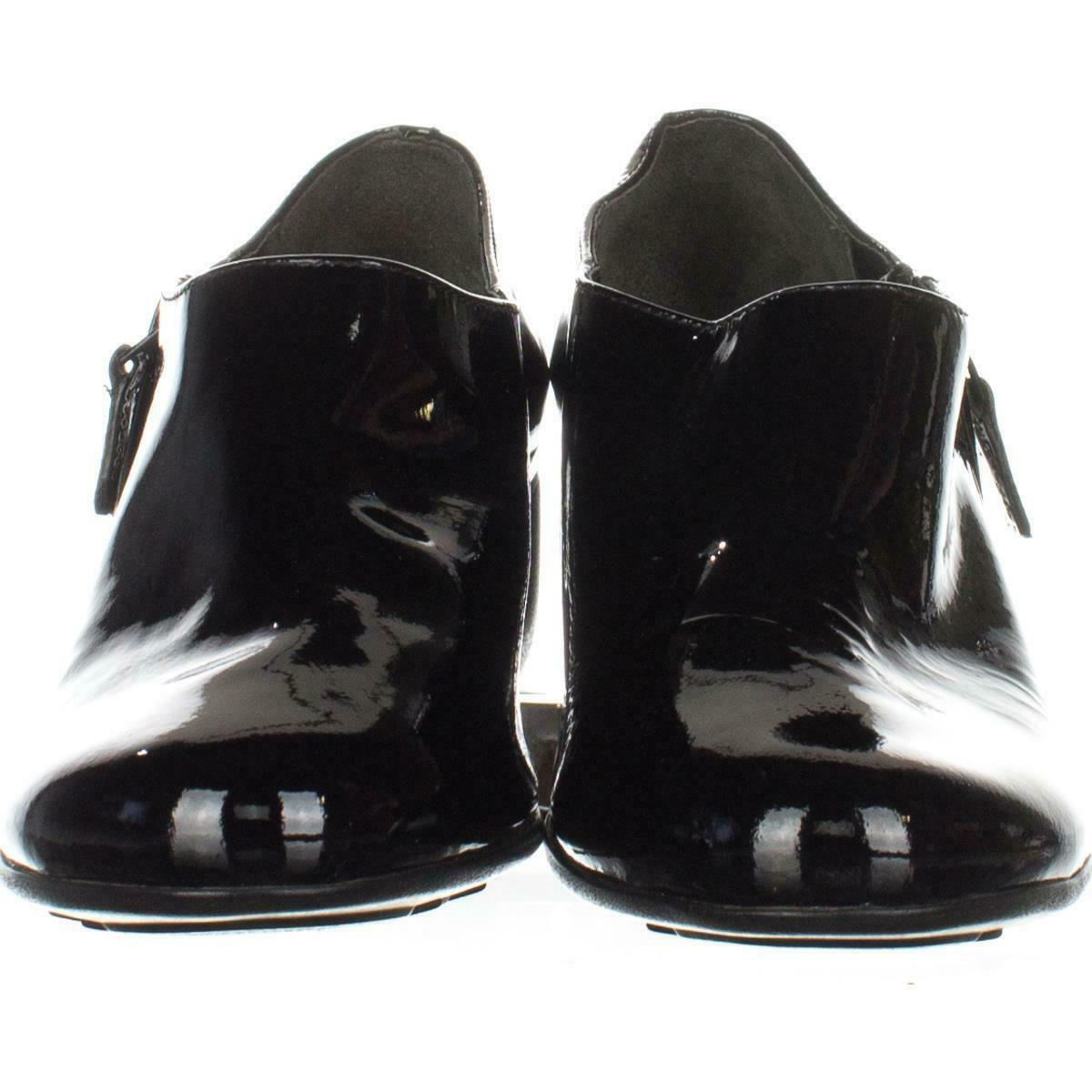Cole Haan Callie Slip-On Waterproof Rain Shoes 675, Black, 6.5 US