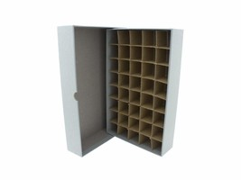 Guardhouse Coin Tube Storage Box, Heavy Duty - Small Dollar/Gray - $16.74
