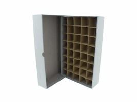 Guardhouse Coin Tube Storage Box, Heavy Duty - Small Dollar/Gray - $16.74