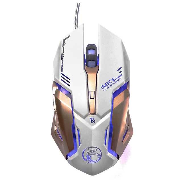 Mouse Gamer 4000DPI Computer Game Mouse Professional 6 Buttons