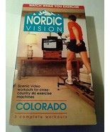 RARE 1993 - NORDIC VISION (VHS) Nordic Trac ~ Virtual Workout Video - $18.00
