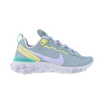 Nike React Element 55 Women's Shoes Ocean Cube-Amethyst Tint BQ2728-301 - $75.40