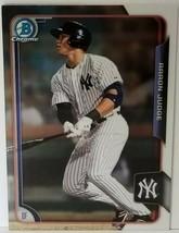 2015 Bowman Chrome AARON JUDGE #150 New York Yankees 10ABA72 - $31.34