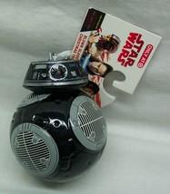 STAR WARS BB-9E BLACK DROID HALLMARK CHRISTMAS HOLIDAY ORNAMENT Last Jed... - $14.85