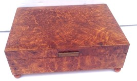 Reuge SANG VIENNOIS, WIENERBLUTSwiss Movement Vintage Lacquered Walnut M... - $49.95