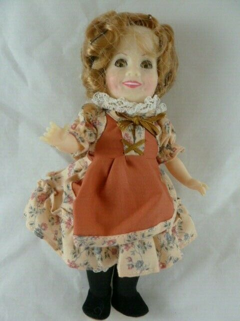 "Primary image for Vintage Ideal 1982 Shirley Temple Classic Doll 8"" tall vinyl"