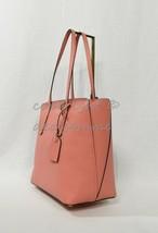 Kate Spade New York PXRUA229 Margaux Leather Medium Zip Top Tote in Peachy Coral - $179.00