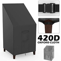willstar Patio Chair Cover 420D Thickening Heavy Duty High Back Outdoor ... - $19.16