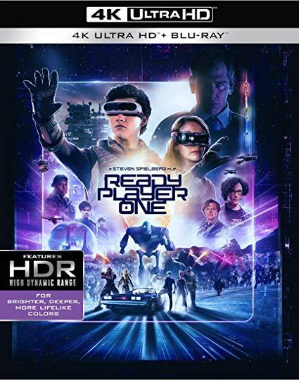 Ready Player One (4K Ultra HD + Blu-ray, 2018) New