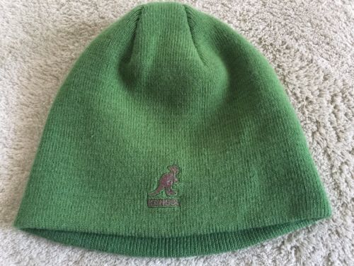 586bb87711561 Kangol Boys Green Knit Beanie Winter Hat and 50 similar items