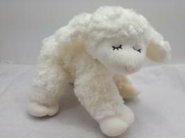 "Baby GUND Sheep Lamb Winky Plush Lovey Rattle Toy Stuffed Animal 9"" Inch - $12.67"