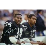 Bo Jackson & Marcus Allen Autographed Oakland Raiders 16x20 Photo JSA - $279.00