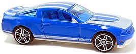 Hot Wheels - 2010 Ford Mustang GT: HW Garage '10 #1/10 - #069/240 *Blue ... - $1.25