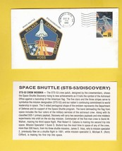 STS-53 DISCOVERY EDWARDS AFB CA DECEMBER 9 1992 WITH INSERT CARD - $1.78