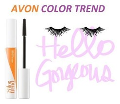 AVON COLOR TREND Mascara HELLO! LONGEST LASHES Flash Lengthening Mascara... - $4.09
