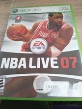 MicroSoft XBox 360 NBA Live 07 image 1