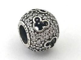 Authentic Pandora Disney Mickey Silhouettes Charm Bead 791442CZ,  New - $57.94