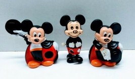 Disney Mickey Mouse Vintage Tomy Wind Up +2 Disney Company Figures  - $13.99