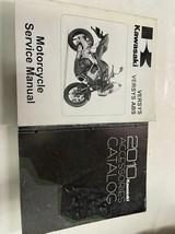 2010 Kawasaki Versys ABS Servicio Reparación Tienda Manual Set Con Acces... - $38.75