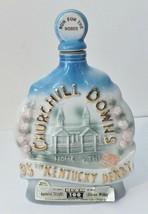 JIM BEAM CHURCHILL DOWNS 95TH KENTUCKY DERBY DECANTER RUN FOR THE ROSES ... - $18.66