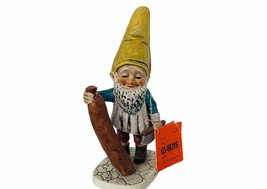 Goebel Gnome Figurine Hummel Co Boy Dwarf Germany vtg Wim Sausage butche... - $74.25