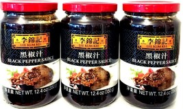 Lee Kum Kee Black Pepper Sauce 12.4 oz ( Pack of 3 ) - $27.71