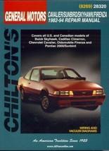 Total Car Care Repair Manuals: GM Cavalier, Skyhawk, Sunbird, and Sunfir... - $15.83